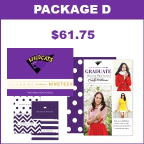 Includes:   25 Wildcat Graduation Announcements  25 Photo Card Grad Party Invites  25 Thank You Cards