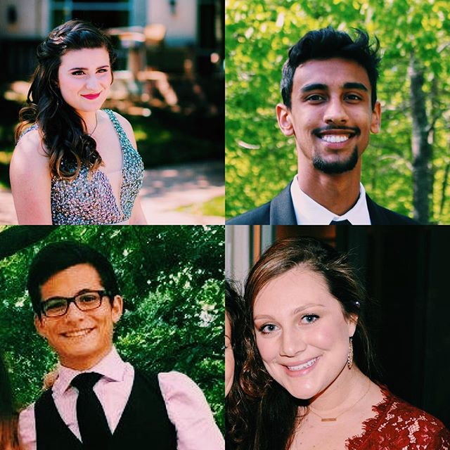 After much deliberation, we are SOO excited to introduce our new baby blues: ⭐️CONGRATULATIONS⭐️Mary Robbins, Deven Heiderscheidt, Michael Valladares & Alik Christianian !💙Welcome to the Gretto fam! 💙 Get ready for an epic year full of great music, great friends, and A LOT of inside jokes. We can't wait to sing with you talented, lovely peeps.💕We'll see you at rehearsal tonight!!!!🎼 Love, The Grettos💙