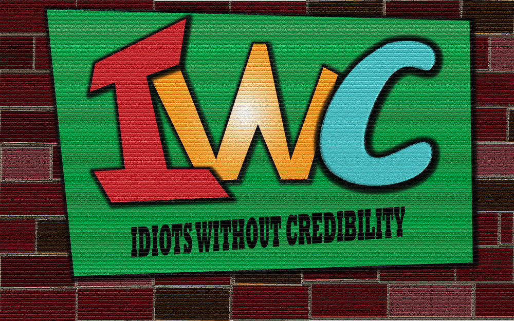 The Idiots Without Credibility Podcast Logo Picture