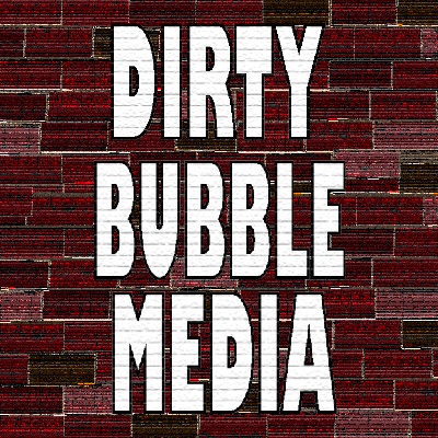 The Dirty Bubble Media production logo picture.