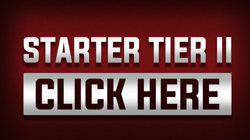 STARTER TIER II - One-Time Payment Of $30.00THIS PLAN INCLUDES:Everything From The STARTER TIER IPLUS+YOUR NAME included in Gridiron Champion's Randomized Generic RosterEstimated Physical & Digital Reward Delivery:Rewards will be processed for delivery once we have reached our funding goal.