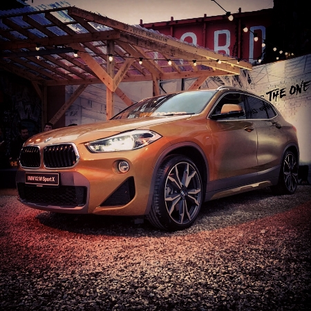 BMW X2 Msport xDrive20d - Photo by  Richard Donelan