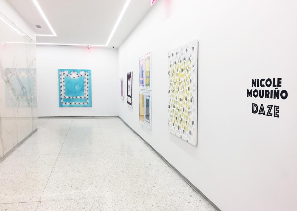 Installation View:  Nicole Mouriño: Daze