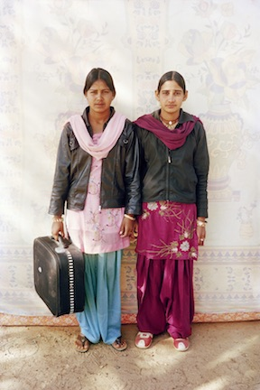 Licchma and Laali , From the series  Balika Mela  2003/2010; Image courtesy Gauri Gill