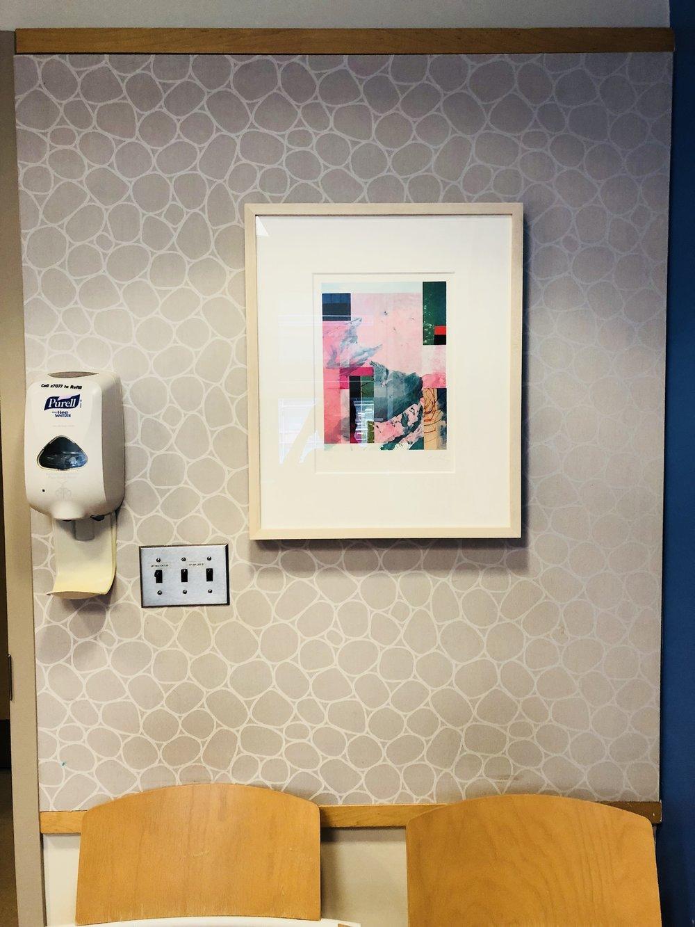 Installation View: Francisco Nicolas,  Pink Mountain,  2018