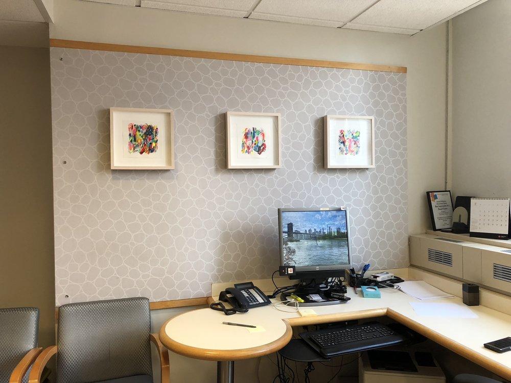 Installation View: Debra Ziss,  Current Mood Series , 2018