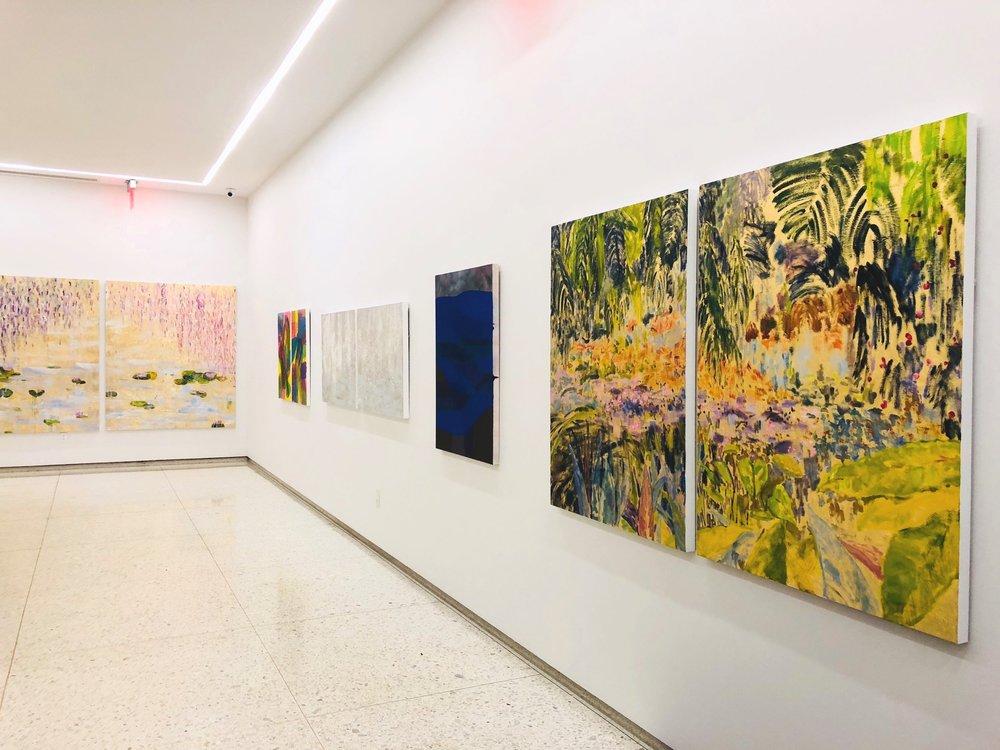 Installation View: Max Sheridan & Michelle Sakhai