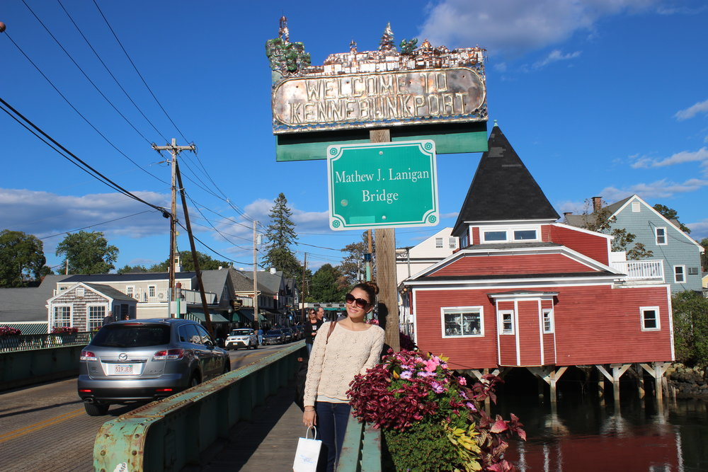 Kennebunkport was on my list because I love visiting little towns with cute little stores. Love this seaside town!