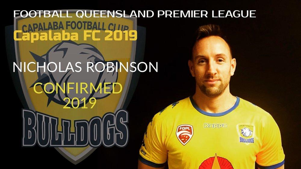 Nicholas Robinson signs for 2019