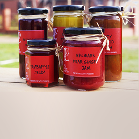 Red Home Pantry - Preserves