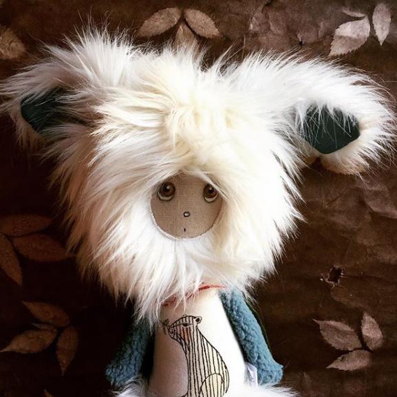 Ocean Rabbit - Art Dolls