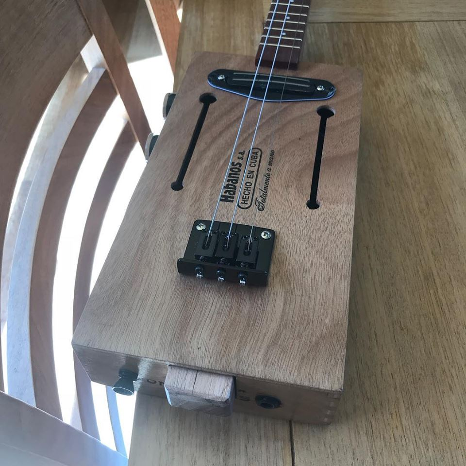 Avocet - Cigar Box Guitars