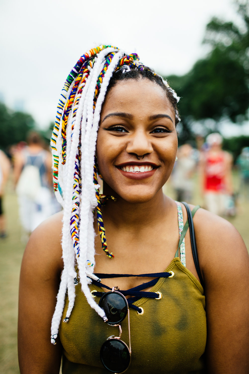 LOLLAPALOOZA STREET STYLE FOR BET 2016