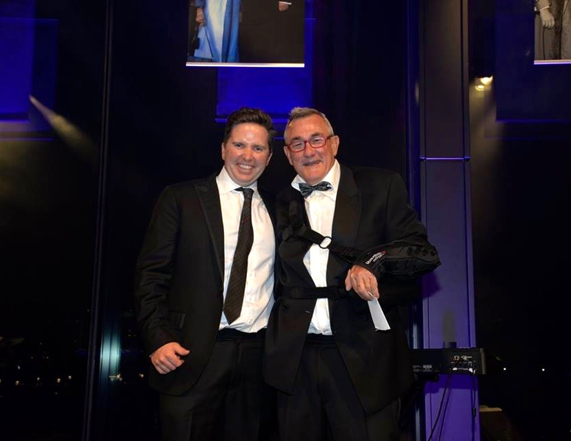 Pictured Left to Right: David Johnston (Winner) & Daniel Tynan (Tynan Motors CEO)
