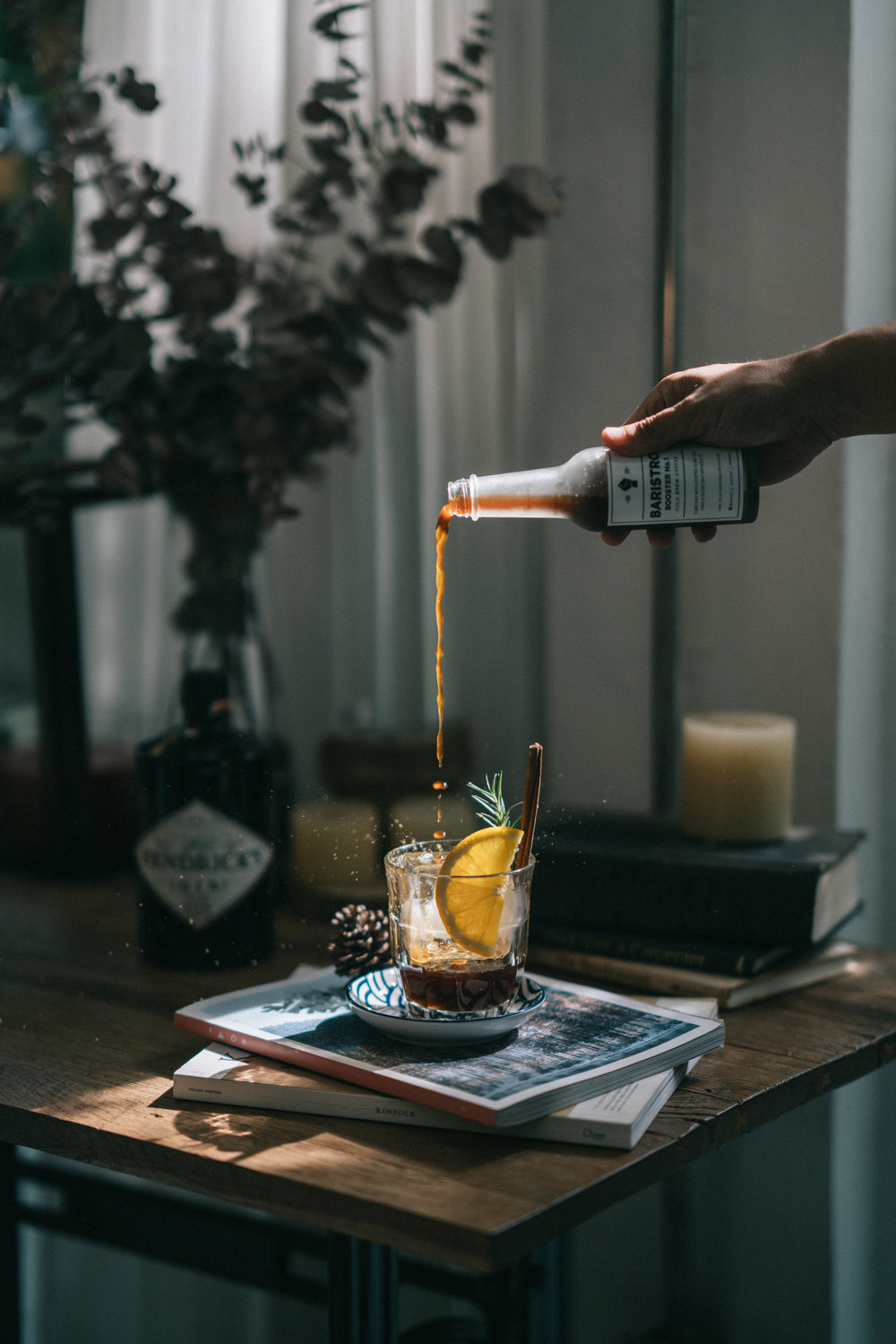 Coffee pour - food, cafe and lifestyle photography by Chiang Mai Photographer Sean Dalton.