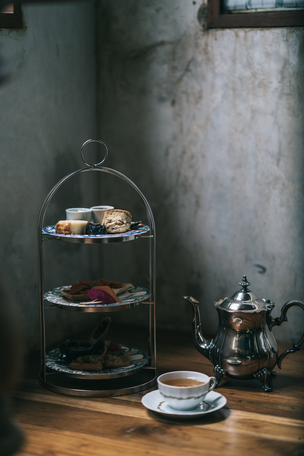 Moody afternoon tea -food, cafe and lifestyle photography by Chiang Mai Photographer Sean Dalton.