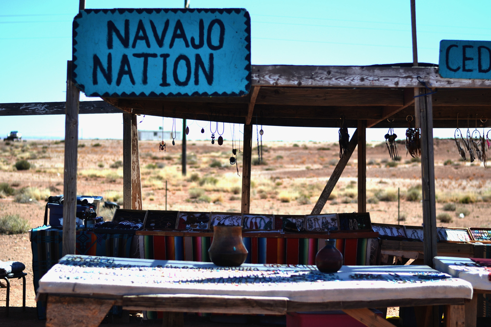 We made a Uturn to stop at this store front in Navajo Nation.
