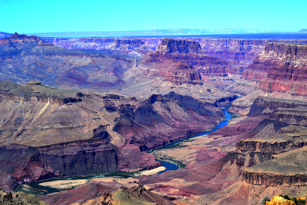 The Grand Canyon, again. Can you believe that tiny little river formed this massive natural wonder?