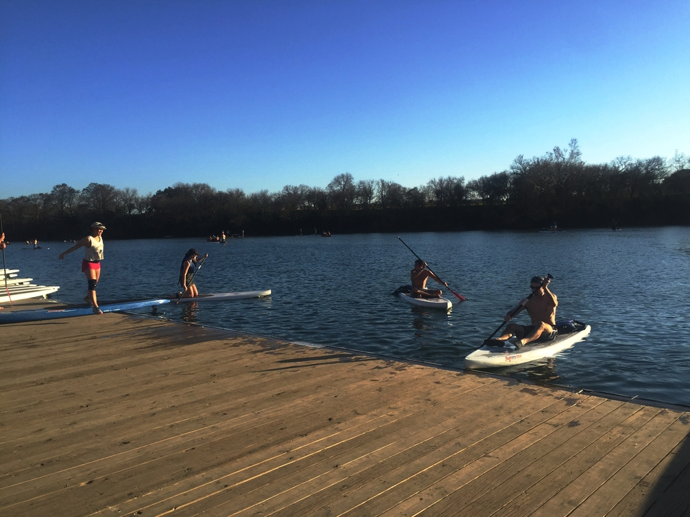 Kayaking & Stand up Paddleboarding on Lady Bird Lake