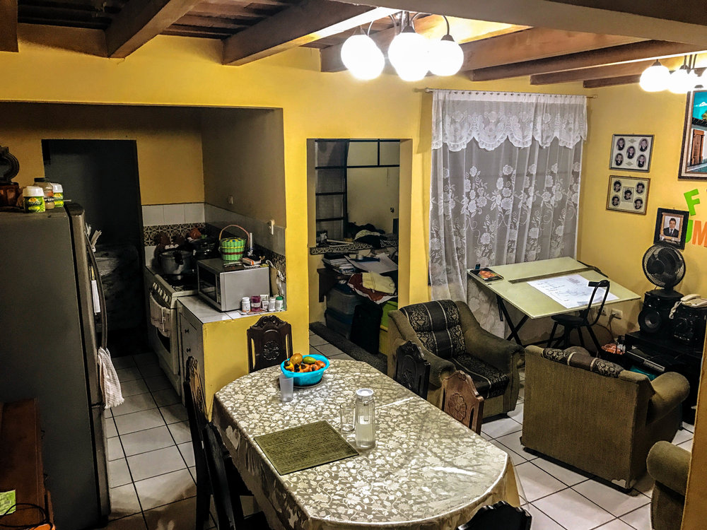My host family's home in Antigua, Guatemala - where I took Spanish classes.