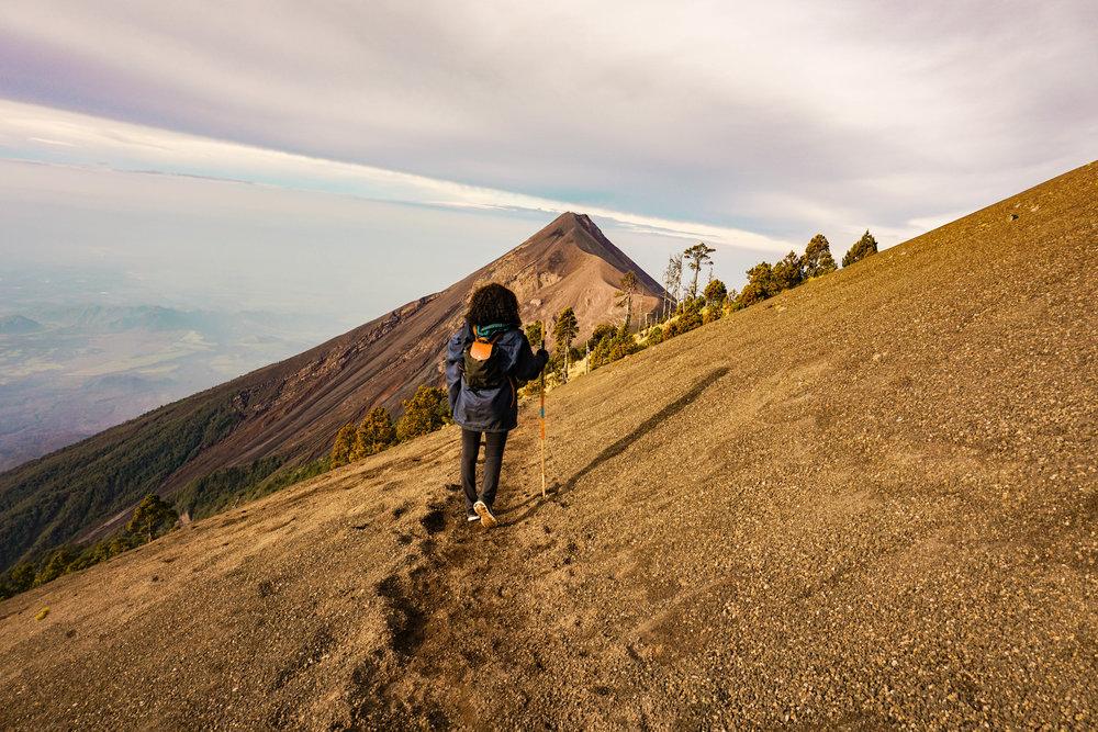 Volcano Acatengo in Guatemala