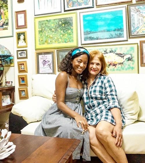 My angel of a host in Havana, Cuba!