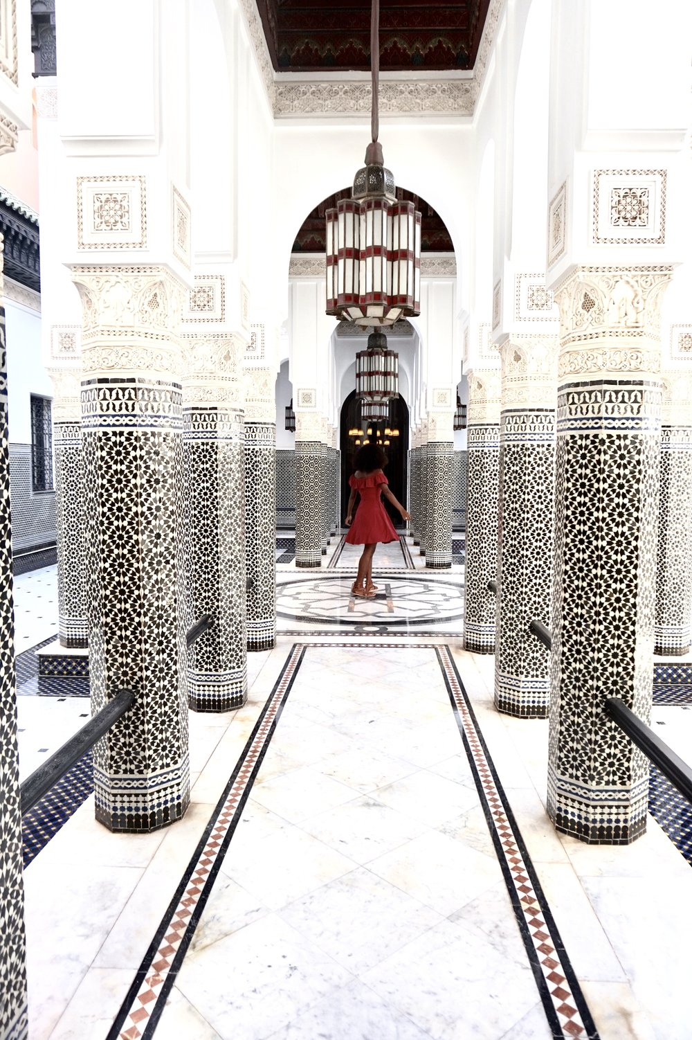 This photo was captured in Morocco with less than three attempts. I knew exactly where I would stand and what pose I would do before asking another traveler to take the shot for me. I then returned the favor by capturing a photo of her and her friend.