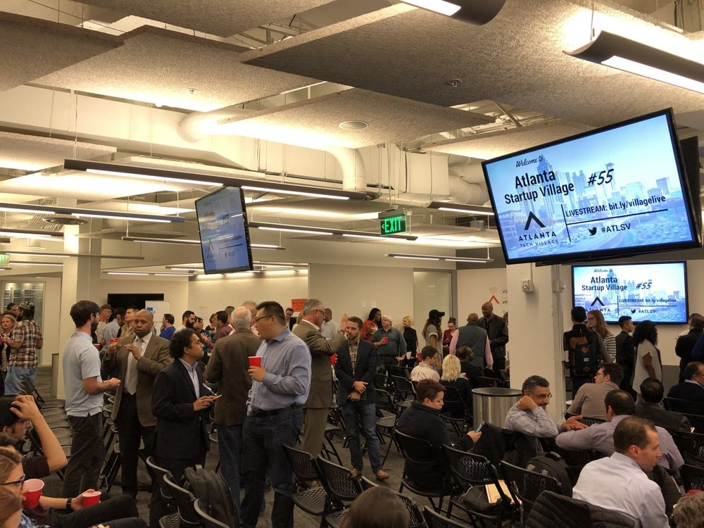 ATL Startup Village is the largest monthly gathering of entrepreneurs in the southeast, hosted at  Atlanta Tech Village .