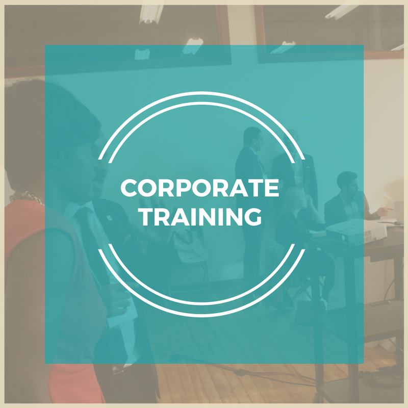 Leadership Training for small to medium sized companies who want to develop your employees to enhance your brand's presence