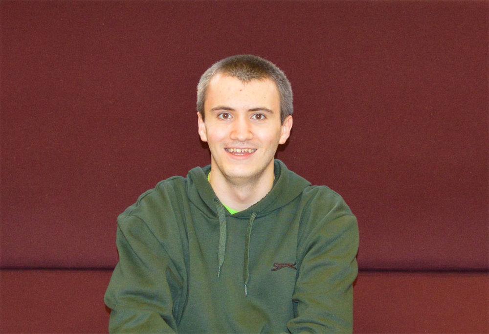 Ryan Gant, 18 - Ipswich, Suffolk