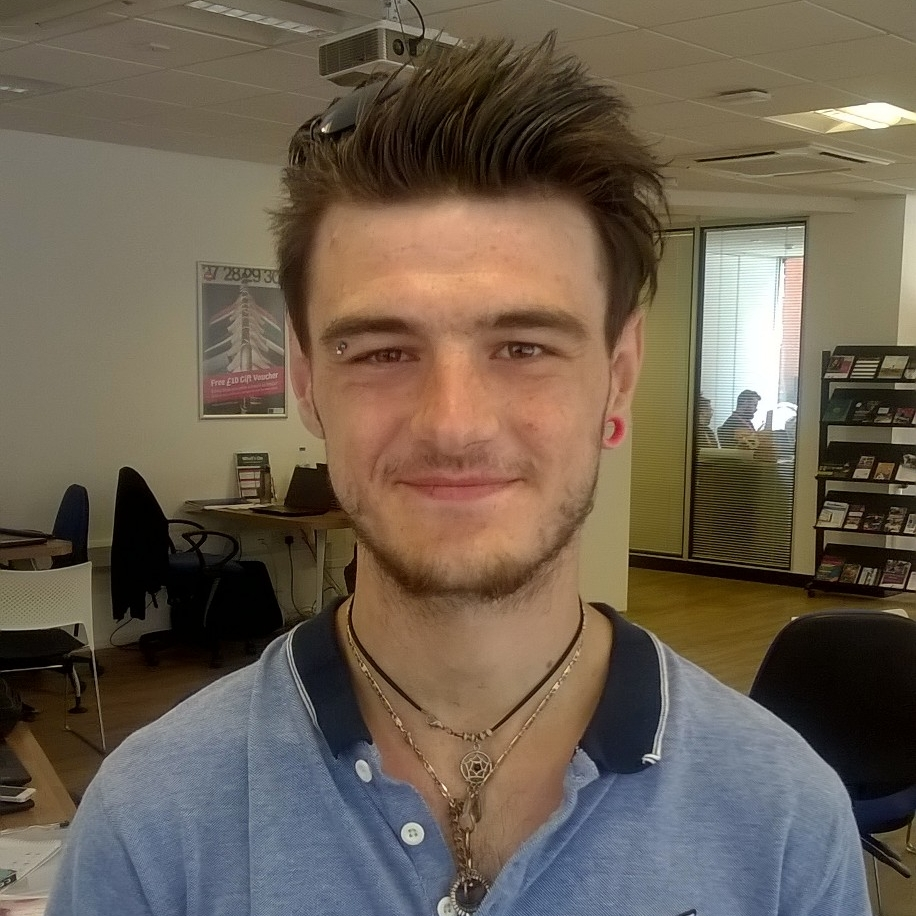 Elliott Weavers  - MyGo Customer, 22, Ipswich