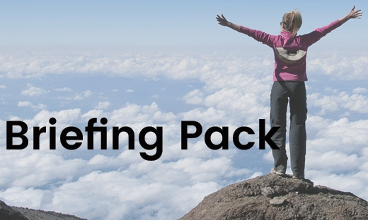 Click above for the briefing pack which contains all the challenge information - from what to pack to how to train and everything in between!