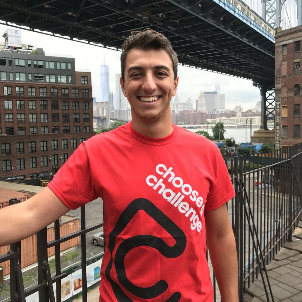 Nick Giampiccolo - Challenge Events Coordinator of Choose a ChallengeNick will be working closely with the team at Emerson. If you have any questions, please feel to email him at the email below.email: support@chooseachallenge.com