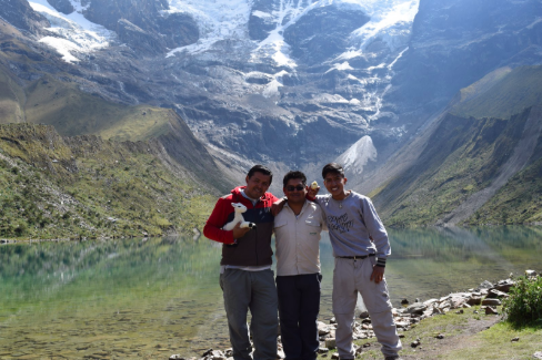 Your guides are the coolest people on Earth. They are rich with knowledge of ancient culture and history of the Cusco region.    [From left to Right: Eduardo, José, Kiké]