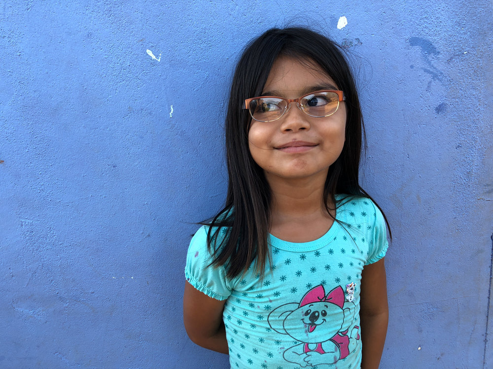 """Everything looks so beautiful now!""  - Rihana, Age 6 - Muritinga, Brazil"