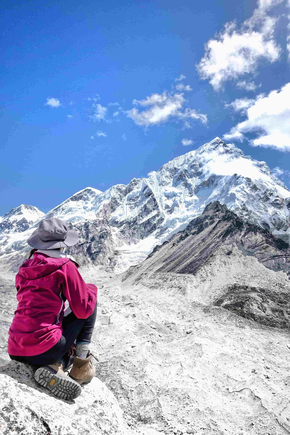 Everest Base Camp - Trek to the base camp of the world's tallest mountain