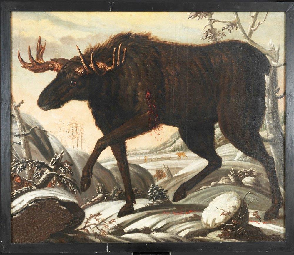 Tabula picta Davidis Ehrenstrahl. (Nordiska Muséet, Stockholm, Sweden)