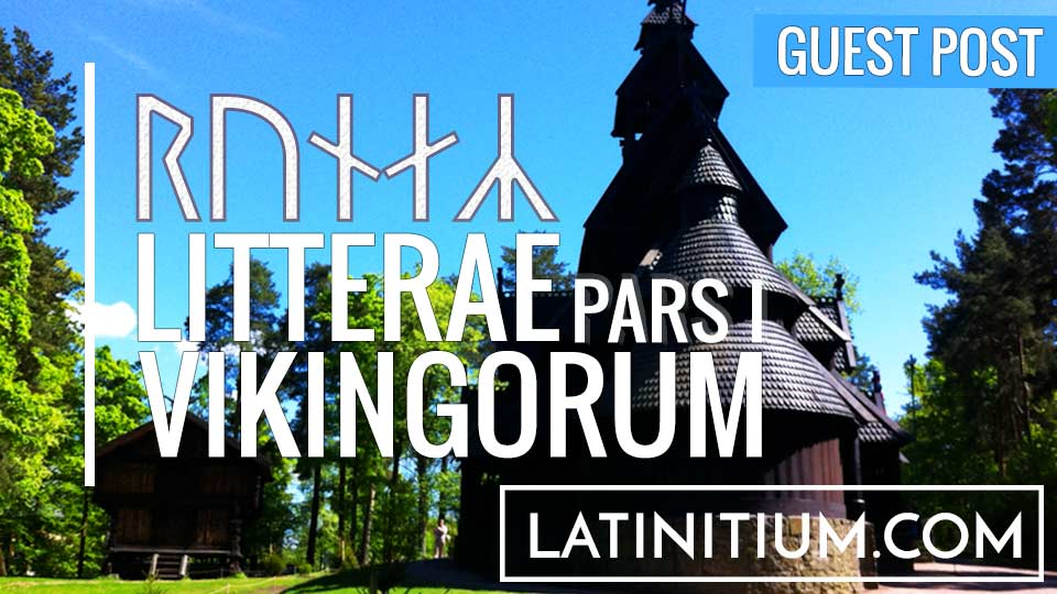 Victor Frans writes for Latinitium.com about the use of runes for writing Latin during the Viking age. Runes in Latin.