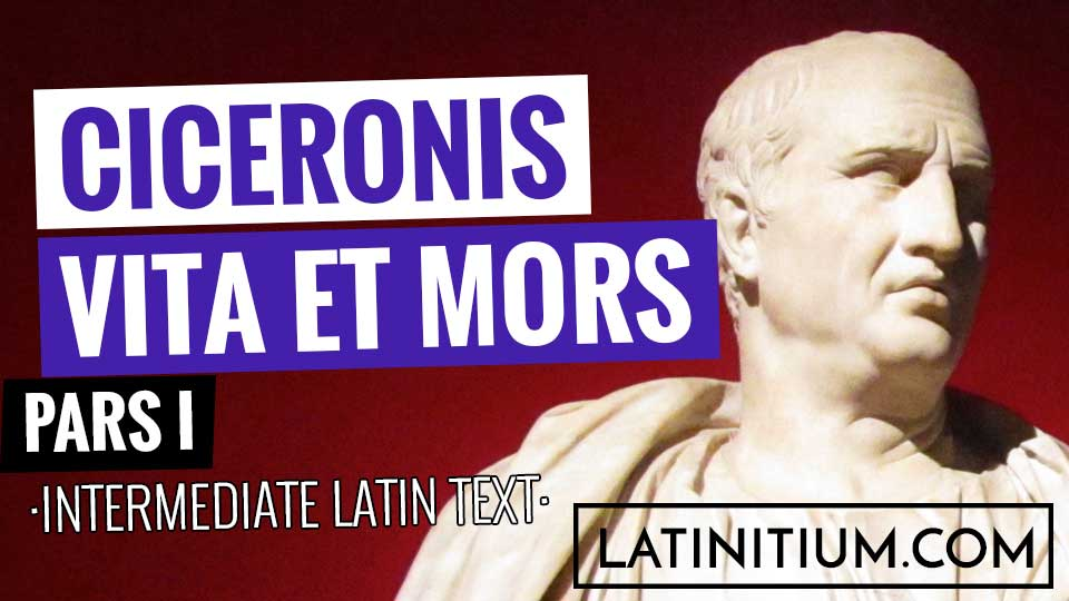 LIsten to this easy Latin text to learn Latin. (From latinitium.com)