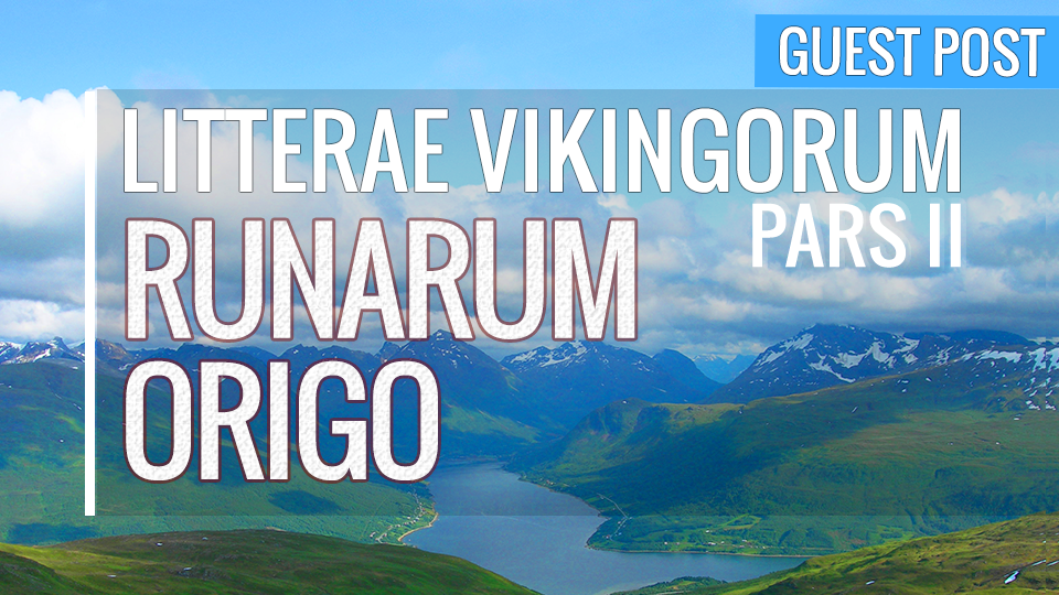 Article in Latin on the origines of the viking runes by Victor Frans for Latinitium.com.
