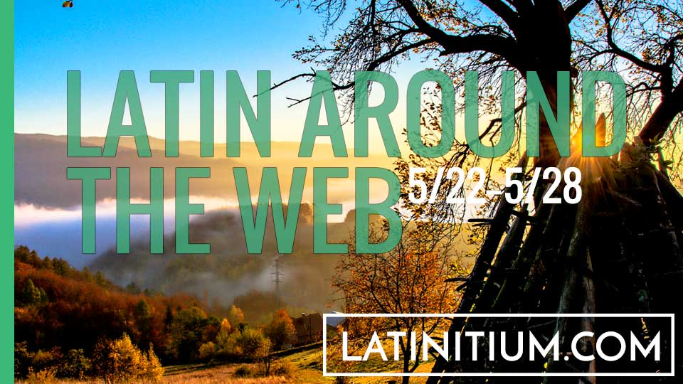 This week's news regarding Latin and Rome, articles, resources for learning Latin. Every week on latinitium.com