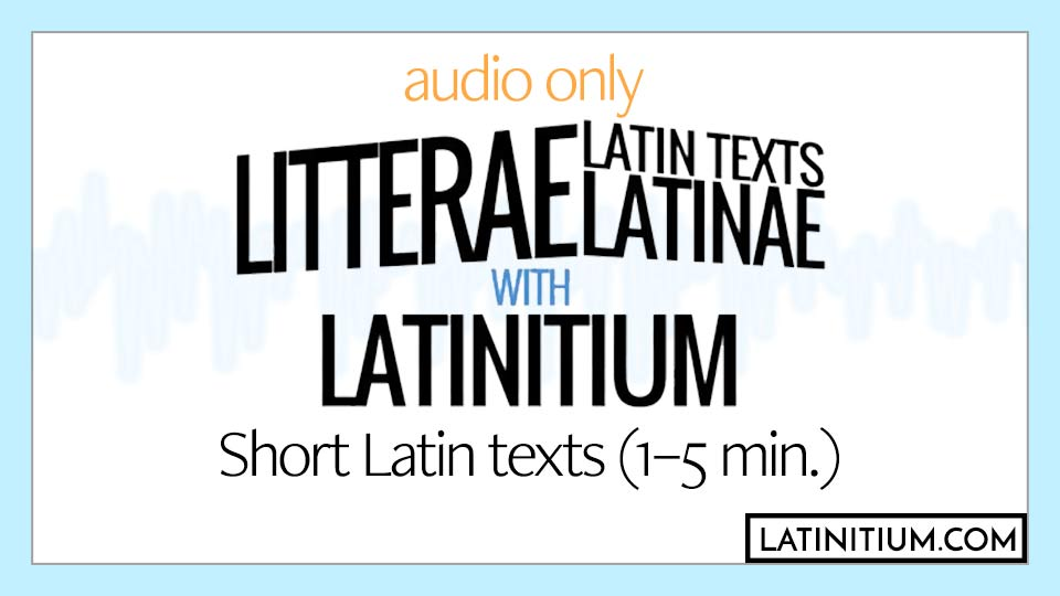 Short Latin texts of varied difficulty.