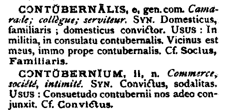 Lexicon Latinum, Wagner. A dictionary of Latin synonyms.