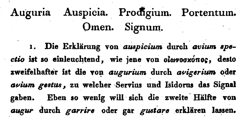 A dictionary of Latin synonyms: Ludwig Döderlein, Lateinische Synonyme und Etymologieen.