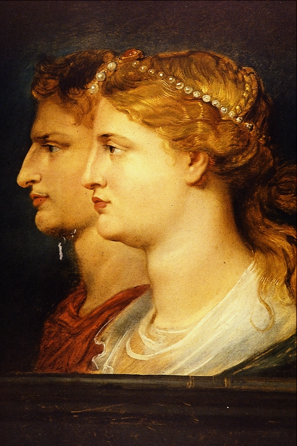 Tiberius and Agrippina  (Vipsania) by Peter Paul Rubens.