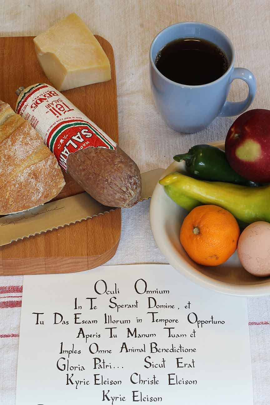 Food and Latin Learn Latin through prayer Benjamin Turner article Latinitium.jpg