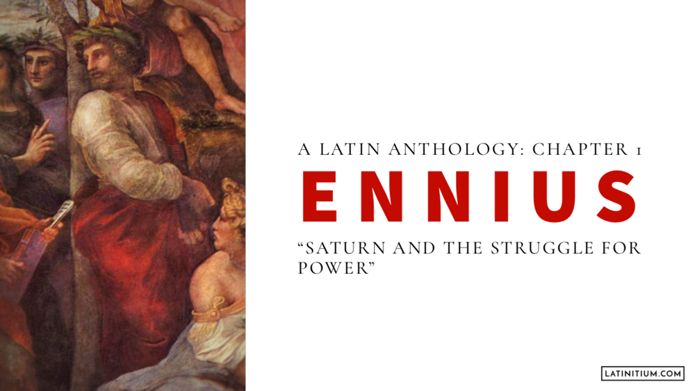 Chapter 1 – Ennius: Saturn and the Struggle for power
