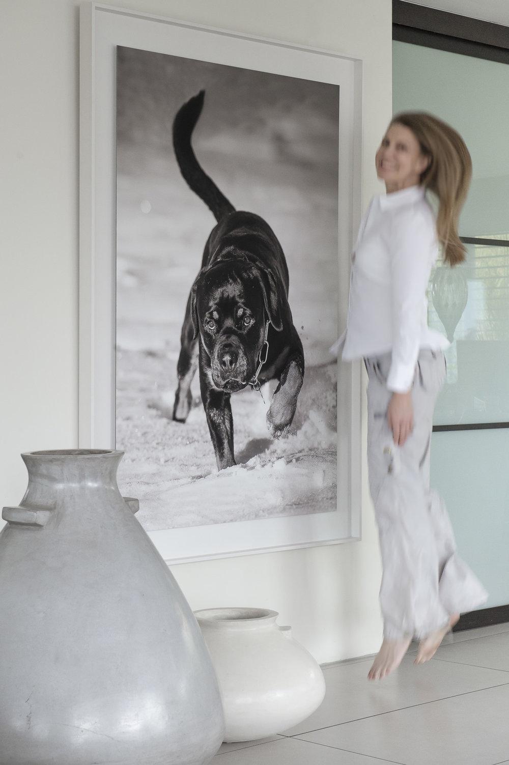 """Projekt """"Gordon&Blake"""" 1/1 Blake fine art print 100cm x150cm NY Schattenfugenrahmen 122cm x 172cm"""