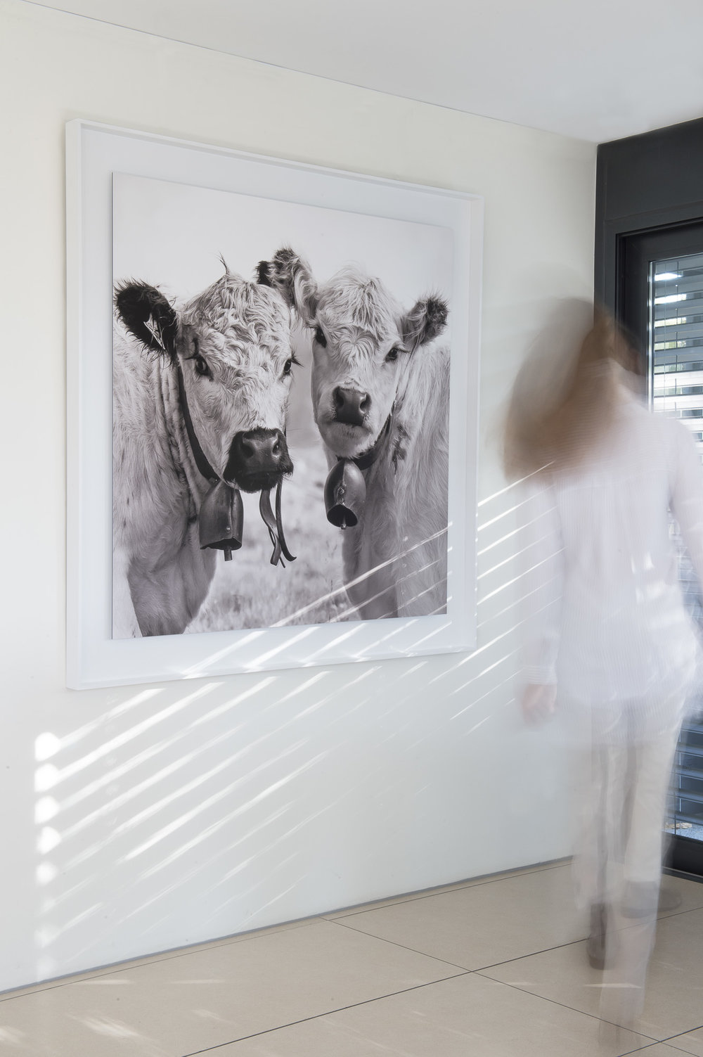 Tilia & Gayla 8/25, fine art print Hahnemühle 120cm x 120cm, NY Schattenfugenrahmen 140cm x 140cm