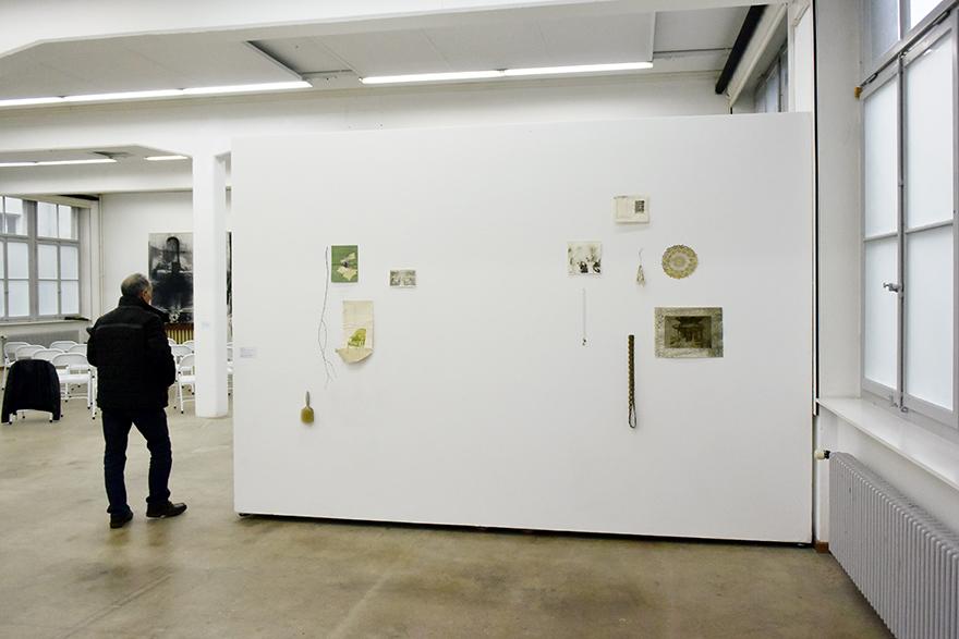 breathing space I und breathing space II Ausstellungsansicht Kunstraum Kreuzlingen